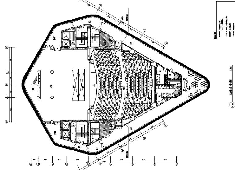 现代风格音乐厅空间设计施工图(附效果图)