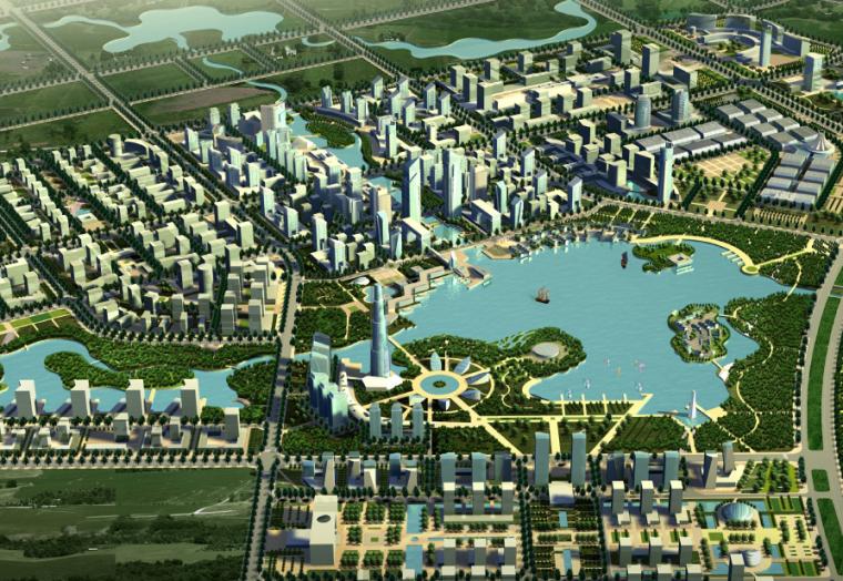 [安徽]滨湖新区概念性规划及核心区城市设计方案文本