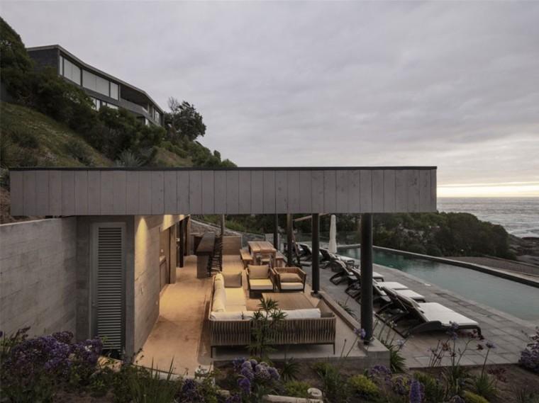 智利的滨海别墅