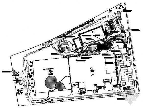 厂区景观平面布置图