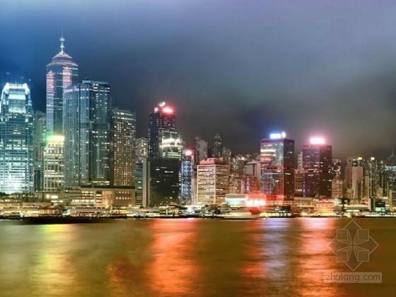 2014年世界25大城市最高天际线排名