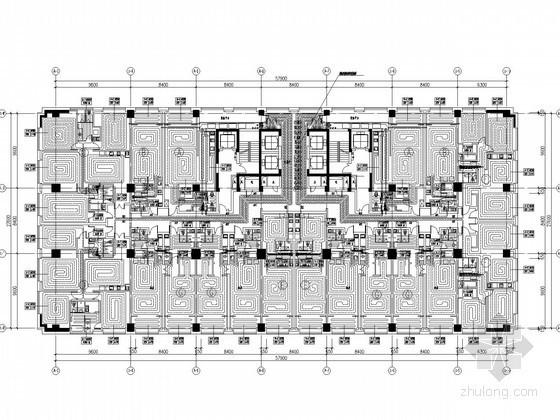 [山东]连锁酒店项目暖通综合设计施工图(冷热源独立)