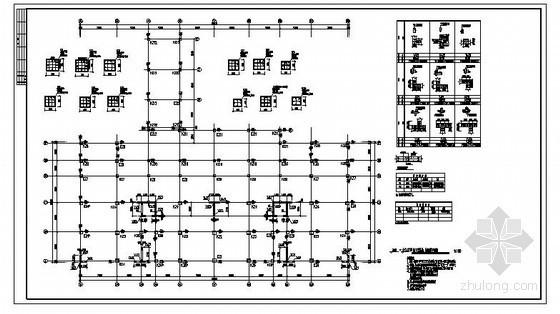 福建某农贸市场框剪结构设计图