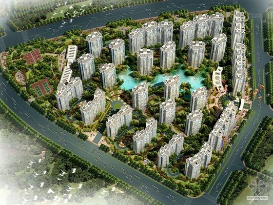 [四川绵阳]某科创园区新兴D-12地块住宅区概念设计方案(含模型照片、设计说明、CAD方案)