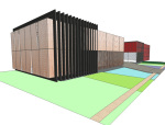现代展馆SketchUp模型下载