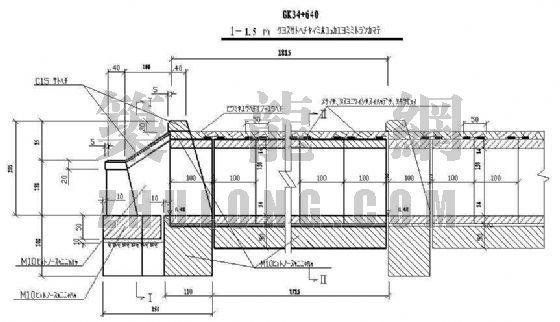 铁路涵洞结构设计图纸