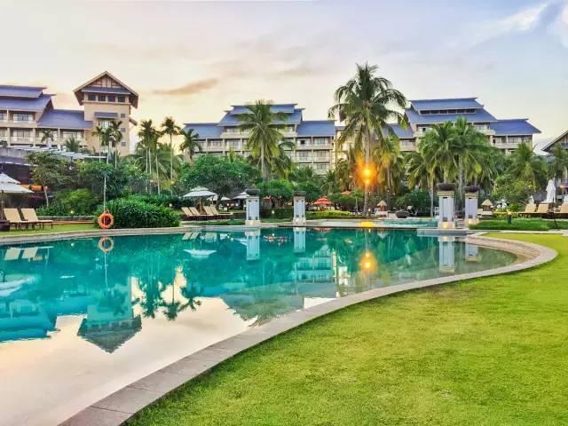 10家顶级酒店的整体景观设计,震撼人心...-金茂希尔顿酒店