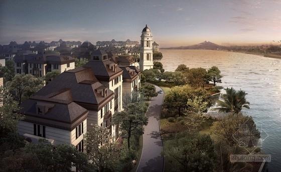 [上海]花园式特色奢侈住宅区概念规划方案文本