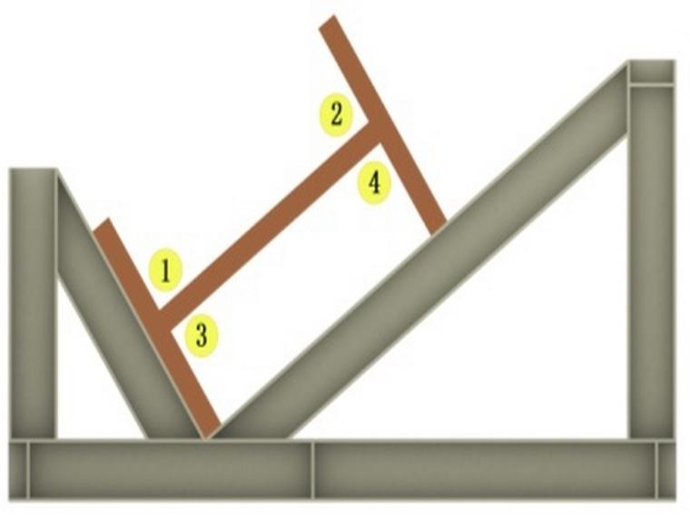H型钢焊接顺序
