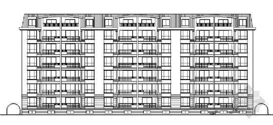某多层住宅楼建筑施工图(全套)