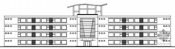 [南工大毕业设计]某四层综合楼建筑方案图