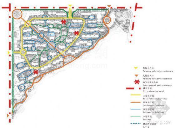 武汉大华南湖公园世家一期景观方案-3