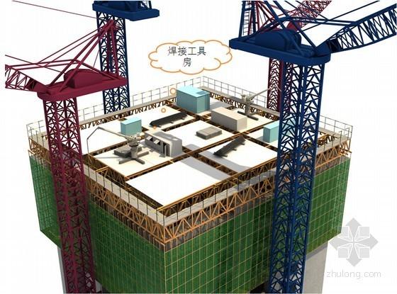 [天津]地标性超高层写字楼钢结构工程施工组织设计(597米 丰富效果图)