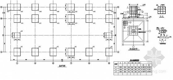 郑州市某售楼部结构设计图