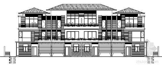 丹堤A区21、22号楼建筑施工图