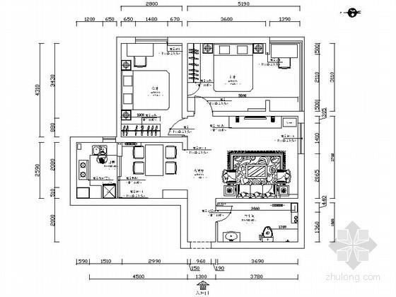 [河北]两居两厅室内装修图