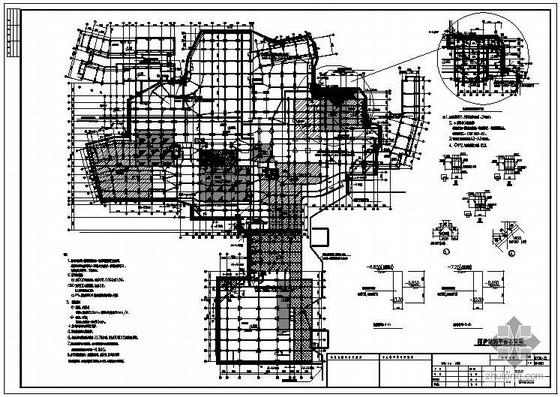 杭州某星级酒店基坑围护工程图纸
