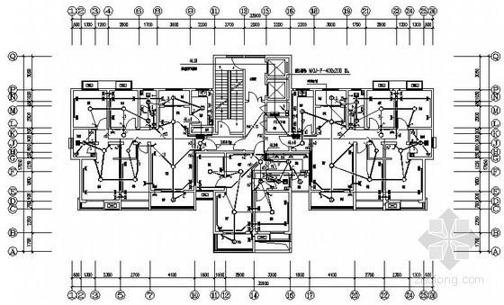 [河南]二十六层住宅楼电气施工图纸