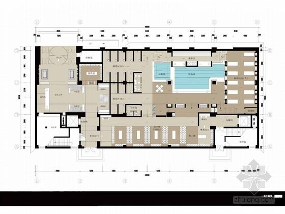 [内蒙]简洁明快东南亚风格洗浴会所概念设计方案(含效果图)