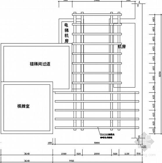 [四川]屋顶花园廊架木结构施工图