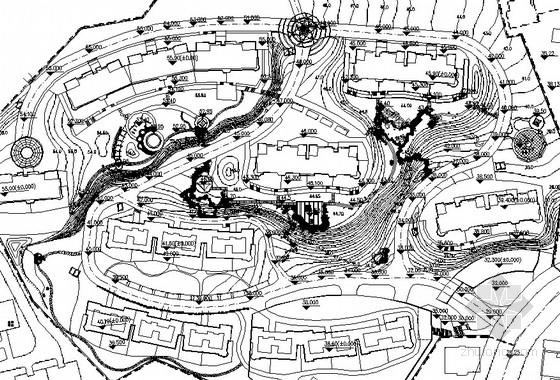[山东威海]现代花园居住区园林景观工程扩初施工图