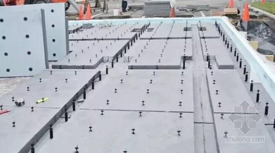 建筑工程混凝土预制板制作及吊装施工过程图解