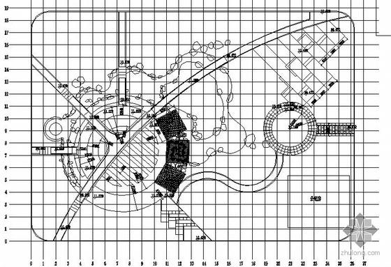 小广场景观设计施工图全套