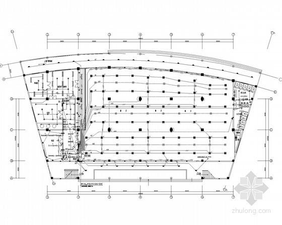 五层食堂综合楼全套电气施工图纸
