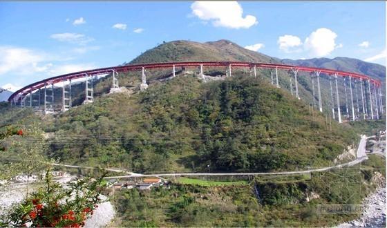 世界最长全钢管桁架连续梁桥施工技术资料全套附CAD(含施组方案工法)