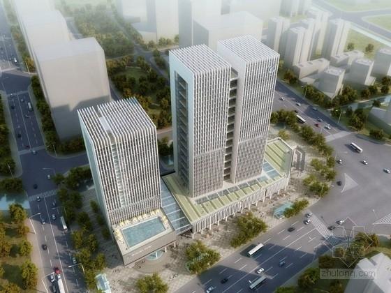 [江苏]30层高层商业综合体建筑设计方案文本(含CAD,多媒体,PPT)