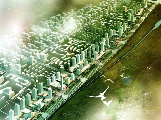 [西安]文化古城特色景观道路规划设计方案