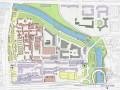 北京白云观地段城市设计(某名校城市设计作品集)