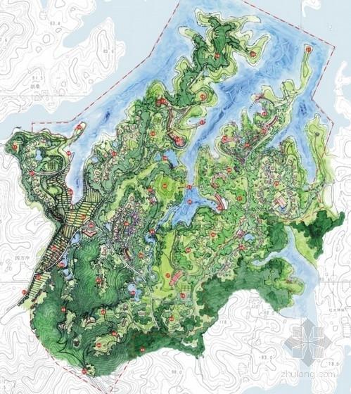 各类绿地类型景观规划设计总平面图图集