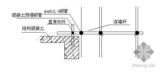 西安某实验楼落地式脚手架施工方案(有计算)