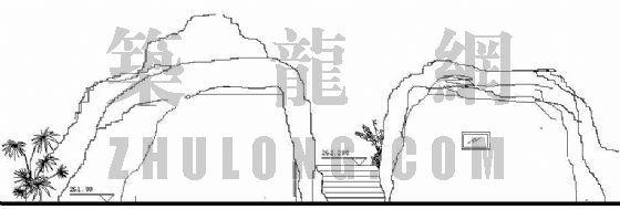 景区厕所施工图