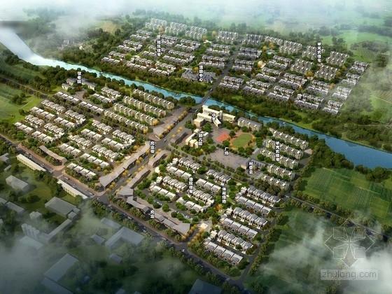 [河南]现代城市新农村景观规划设计方案
