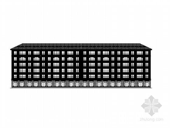[沈阳]多层框架式节能住宅建筑施工图(含两套方案)