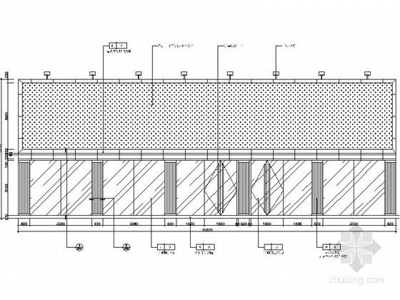 [瑞金]新亚洲别墅群高档售楼处室内装修施工图(含效果)外观立面图