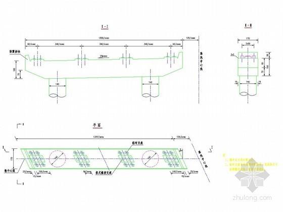 连续箱梁桥临时支座设计详图