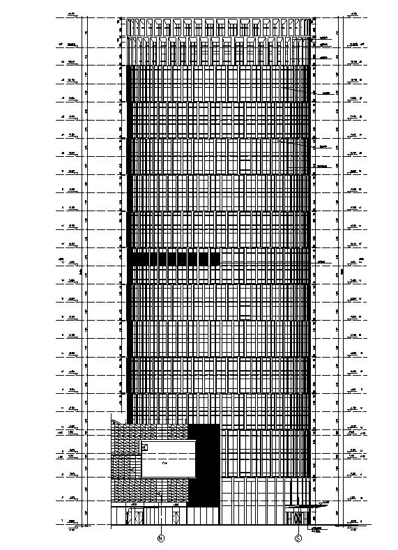 [上海]国际知名设计院办公楼最终审核图纸(16年最新)_5