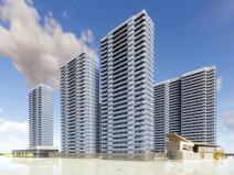 [浙江]杭州融信蓝孔雀现代高层sbf123胜博发娱乐模型设计(2018年)
