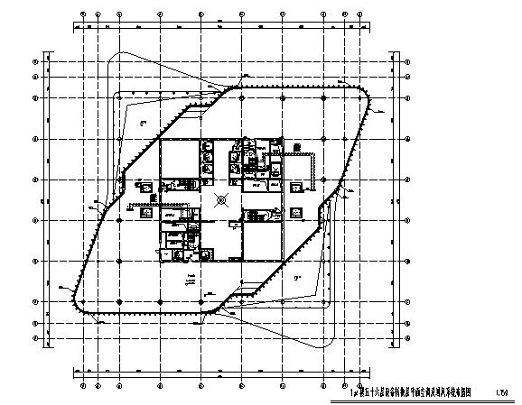 [河南]63层商业综合体采暖系统设计施工图(知名甲级设计院)