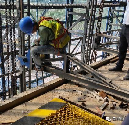 一种新型全钢式升降脚手架,在这里施工就像在室内施工一样_49