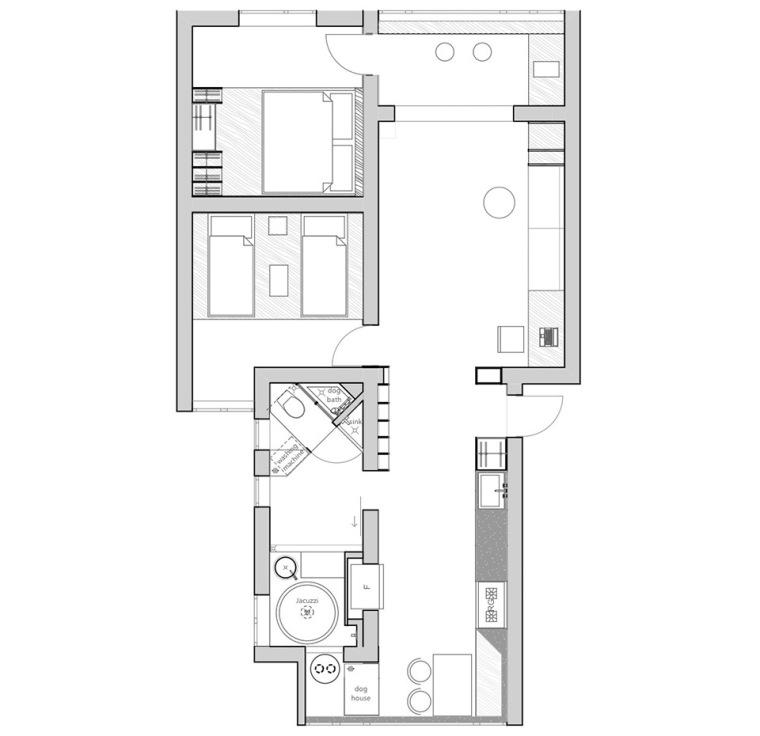 重庆双钢路旧公寓改造-16