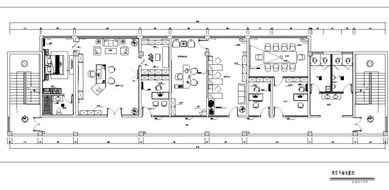 [广东]联润办公空间设计施工图
