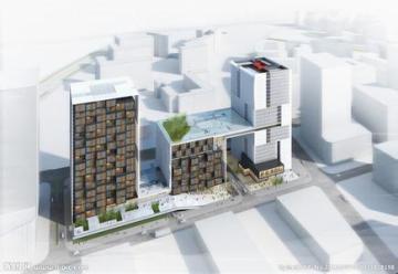 某市五层行政办公楼建筑框及结构设计(含计算书,建筑、结构图)