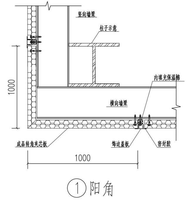 钢结构门、窗安装节点详图_1