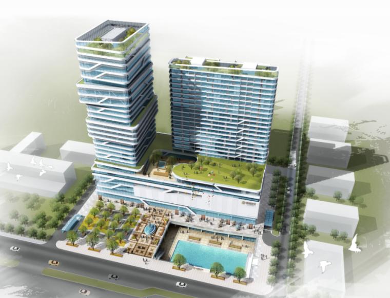 [河北]唐山市渤海新世界综合体建筑方案设计