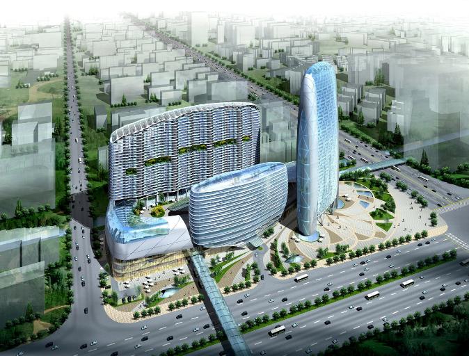 [广东]广佛地铁A3地块大型商住综合体规划设计方案文本