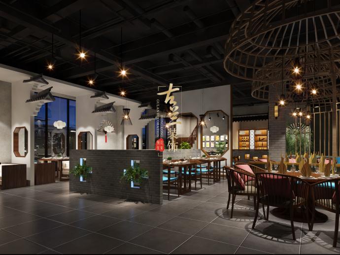 成都中餐厅装修设计公司-《徽州人家特色餐厅》-古兰装饰-徽州人家特色餐厅3.jpg